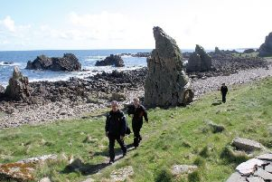 A spring walk along the coastal path