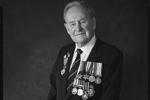 Port Seton veteran Charles Horne is heading back to Normandy today, 75 years after his first journey there. (Pic: Wattie Cheung)