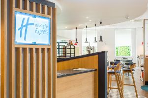 The Holiday Inn Express at Strathclyde Park has undergone a �2m refurbishment