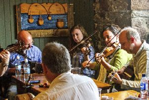 The town will come alive with folk music over the next three days
