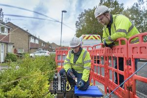 Engineers working to improve the broadband network