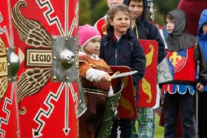 Next month's Big Roman Week is a major family day out opportunity at Kinneil House.