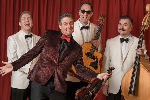 Viper Swing will play at this year's Kelso Folk Festival.