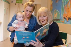 The Scottish Book Trust gifts books top every child in Scotland to ensure families of all backgrounds can share the joy of books at home. (Photo: Rachel Hein)
