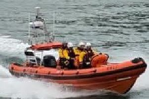 The volunteer crew spent a week getting to know the new lifeboat