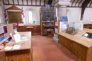 The exhibition covers more than three centuries of church history