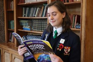 Iona Benvie's essay was chosen from more than 1000 entries