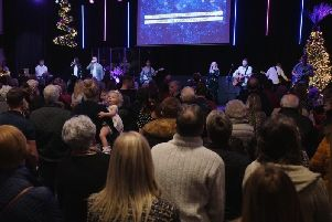There were full houses at each of the carol services at Apex last year and this year's three services are already at full capacity.