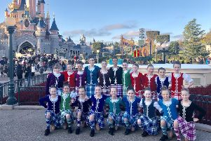 Noreen-Marie Geddes dancers at Disneyland Paris