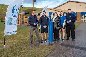 The new facility was launched at Queen Elizabeth Park in Stonehaven