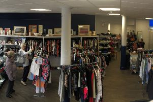 The charity takes the pop-up shop to locations where it does not have a permanent presence