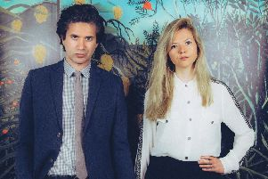 Still Corners, who released their new album Slow Air earlier this year, are playing at Glasgow's Broadcast.
