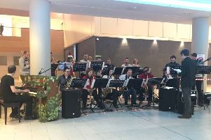 The Michael Brawley Big Band are delighted to be performing at Queen Elizabeth University Hospital for a second year