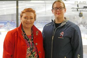 South of Scotland MSP and Ice hockey star Beth Scoon