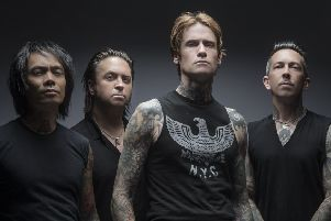 Buckcherry are playing Galvanisers in Glasgow (Photo: Jeremy Saffer)