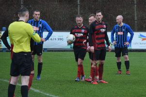 Rob Roy were beaten at Troon despite going in front from the penalty spot (pic by Neil Anderson)