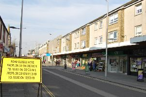 The site of the new pedestrian crossing