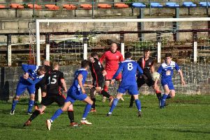Rob Roy drew a blank against Clydebank (pic by Neil Anderson)