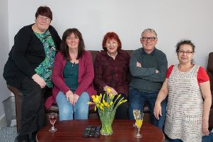 The Smeaton Head team, who were shortlisted amont this year's We Dare Awards.