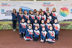 Jump Gymnastics Club from Cumbernauld will represent Scotland at the World Gymnaestrada in Austria in July (pic: British Gymnastics)