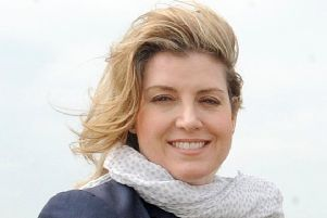 Our inspiration...Secretary of State for Defence Penny Mordaunt has praised the brave warriors who left our shores on June 6, 1944, to take part in the D-Day landings. Even today, 75 years on, she said they remain our inspiration.