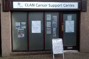 CLAN Cancer support premises in Banchory