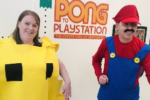 Pong to Playstation is on at North Lanarkshire Heritage Centre until August 24