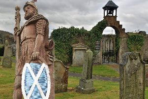 A Selkirk Community Counillor has called again for a statue of William Wallace to be placed in the town's Auld Kirkyard, but it isn't likely to happen any time soon.