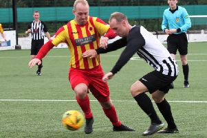 Gary McMenamin and Rossvale lost out at Cumnock (pic: Alison Scott)