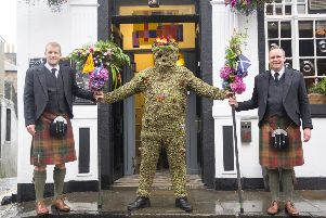 SOUTH QUEENSFERRY The Burryman 2019