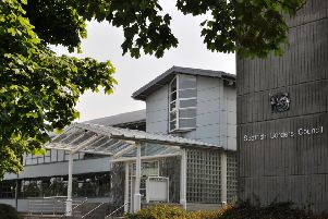 Scottish Borders Council headquarters in Newtown St Boswells