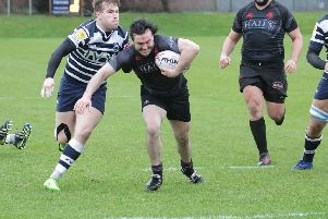 Biggar ace Conor Lavery was injured in the 31-17 home friendly defeat by Marr last weekend (Library pic)