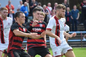 Rob Roy suffered another frustrating afternoon against Clydebank (pic: Neil Anderson)