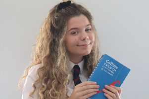 Amelie Smith is aiming for a career in international law