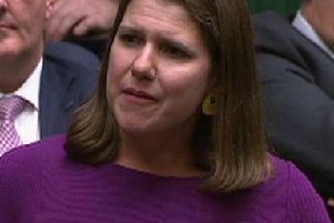 Jo Swinson fought back tears in House of Commons last night