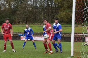 Rob Roy remain in deep relegation trouble after their defeat at Glenafton. (pic: Neil Anderson)