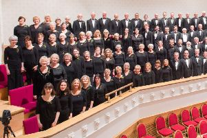 The Bearsden Choir celebrate their Golden Anniversary with a special Christmas concert playing Handel's 'Messiah' at City Halls, Glasgow