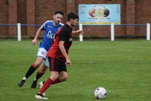 Rob Roy went down at Irvine Meadow in their opening match of 2020