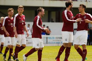 Linlithgow players lining up to congratulate Tommy Coyne on scoring has become a familiar sight at Prestonfield over the years.