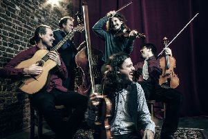 Les Violons de Bruxelles are performing in Thrill: Jazz From Brussels, which takes place in Edinburgh in February.