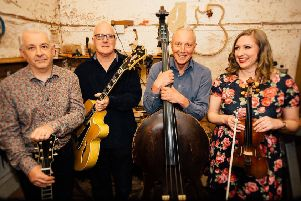 Gypsy jazz/swing quartet Rose Room are next to play at Linlithgow Jazz. (photo: Andrew Laing)