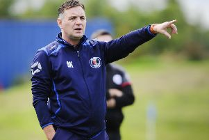 Steve Kerrigan has resigned after a year as Bo'ness United manager