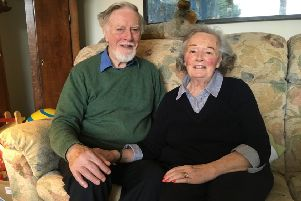 Still smiling...Philip and Sheila Whitehead have had an interesting 62 years together and, while they've never tackled abseiling, have done their fair share of charity work.