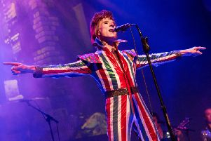 The Bowie Experience, featuring Laurence Knight in the lead role, will bring the music of the legendary David Bowie to the stage. (Photos: Charlie Raven)