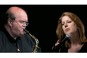 Saxophonist Stewart Forbes will be joining house band singer Sue McHugh on stage at Linlithgow Jazz.