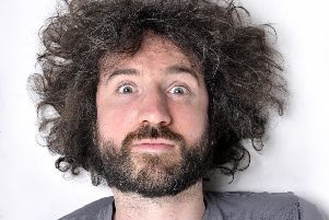 Musical comedian Micky P Kerr is touring the UK with his new show. (Photo: Steve Ullathorne)