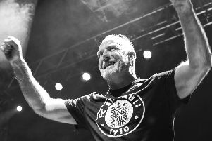 Richard Jobson, one of the founders of The Skids, features in the current line-up. (Photo: Steve Smith)