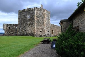 Picture Michael Gillen.  Blackness Castle.