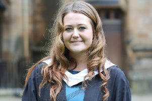Bronwen Winter graduates from SRUC.