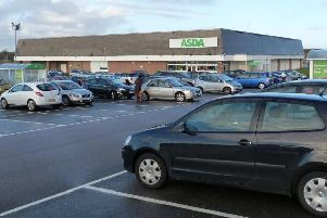 The incident occurred this morning at Peterhead's Asda store which is undergoing a major refurbishment. (Stock Image)
